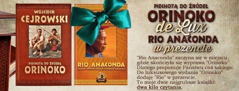 Rio Anaconda, Orinoko de Lux