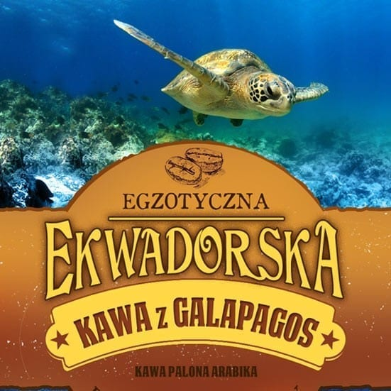 kawa ekwadorska z galapagos