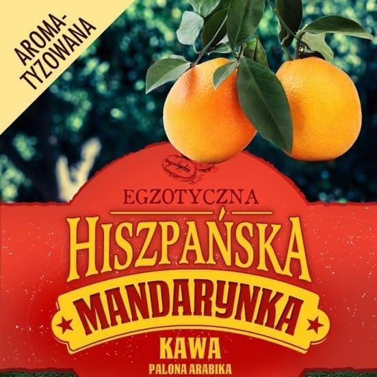 kawa hiszpanska mandarynka