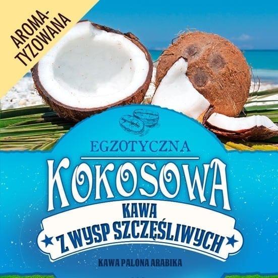 kawa kokosowa z wysp szczesliwych