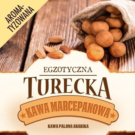 kawa turecka marcepanowa