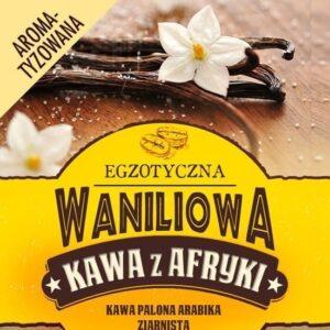 Waniliowa kawa z Afryki