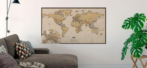 Mapa Swiata bezowa main2
