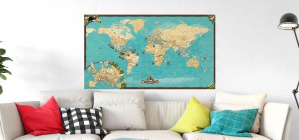 Mapa Swiata boso main
