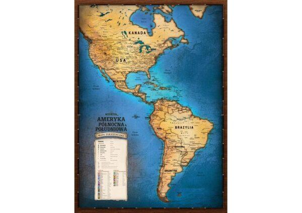 Turystyczna Mapa Ameryki