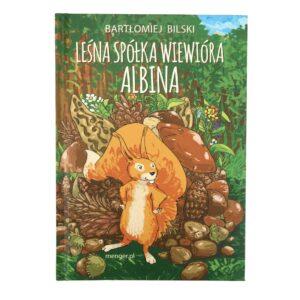 Leśna spółka wiewióra Albina