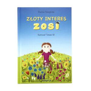 książka Złoty interes Zosi okładka