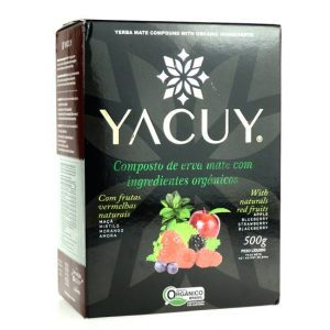 Yerba Mate Yacuy Czerwone Owoce